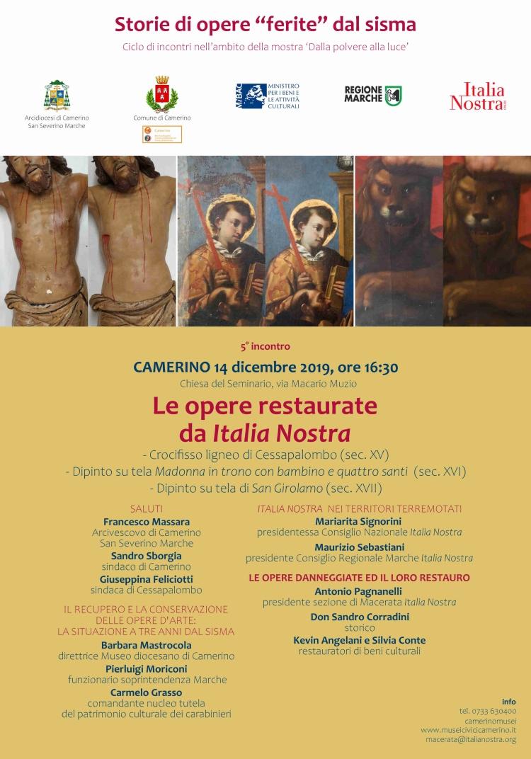 Opere Italia Nostra 14 dicembre 2019 750