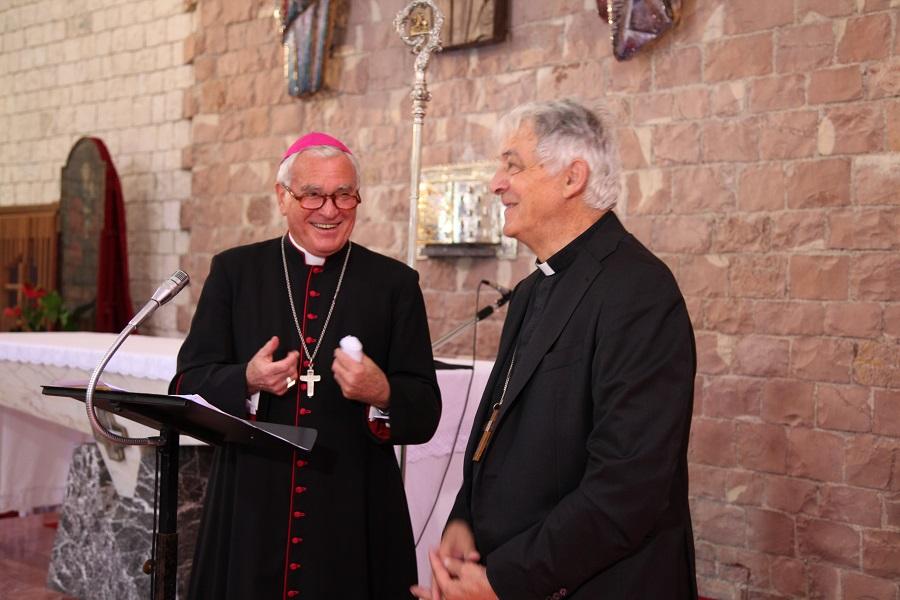 Arcivescovo con il cardinal Menichelli