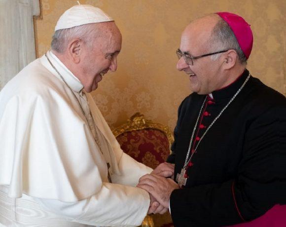 Papa Francesco e Vescovo Massara
